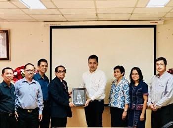 วันที่ 22 กุมภาพันธ์ 2561 ที่ผ่าน อาจารย์มะโน ปราชญาพิพัฒน์ ผู้อำนวยการสถาบันวิจัยและบริการวิชาการด้าน โลจิสติกส์และซัพพลายเชน ได้เข้าหารือ กับมหาวิทยาลัยราชมงคลเทคนิคกรุงเทพ เพื่อดำเนินการจัดทำความร่วมมือทางวิชาการ