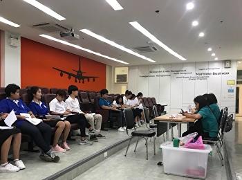 วันที่ 29 สิงหาคม 2561 กองทุนเงินให้กู้ยืมเพื่อการศึกษา ได้มาให้บริการตรวจแบบคำขอกู้ยืม ปีการศึกษา 2561 ณ ศูนย์การศึกษาจังหวัดนครปฐม กับนักศึกษาที่ประสงค์ขอกู้ยืมทั้งรายเก่าและรายใหม่ ห้อง 207 อาคารโลจิสติกส์ 1