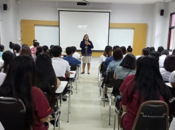 Educational Guidance for Bachelor Degree at Aksorn Technological College (Ban Chang), Rayong (Much interest for the educational guidance was received by students and parents).