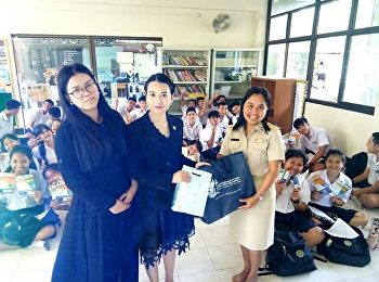 the head of logistics management and a lecturer from Ranong Education Center, College of Logistics and Supply Chain, Suan Sunandha Rajabhat University, gave profession guidance in logistics at Takkulapa Senanukul School in Phang Nga.