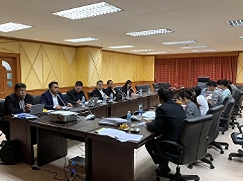 Asst. Prof. Dr. Komson Sommanawat, Dean of College of Logistics and Supply Chain, Suan Sunandha Rajabhat University, Dr. Mano Prachayapipat and Dr. Jakkrapun Kontana proposed the project