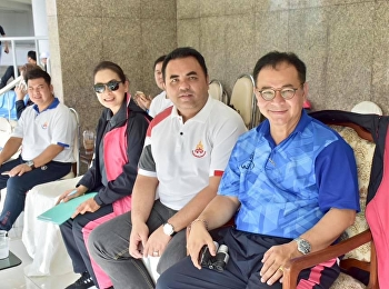 Asst. Prof. Dr. Komson Sommanawat, Dean of College of Logistics & Supply Chain, participated in the opening ceremony of the 30th Sunandha Sport Competition to watch the competition of cheerleaders,