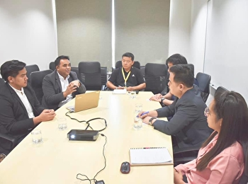 Asst. Prof. Dr. Komson Sommanawat, Dean of College of Logistics & Supply Chain, attended a meeting on academic collaboration to develop teaching guidelines for student to professional practitioner at Flash Express Co., Ltd.