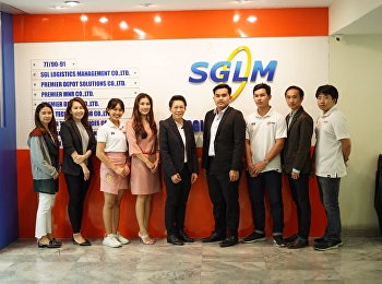 Dr. Chanicha Moryadee, President of Special Projects and Cooperation Projects, and Mr. Sittichai Pintuma, Head of Logistics Management for Online Business, met with the executives of SGLM Company and its affiliates to exchange ideas and follow up