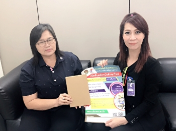 The Corporate Communications Department of College of Logistics and Supply Chain from Nakhon Pathom Campus met with Human Resource Manager of Essem International Company Limited in Laem Chabang Industrial Estate,