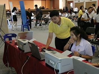 บรรยากาศการรับมอบตัวนักศึกษาระดับปริญญาตรี วิทยาลัยโลจิสติกส์และซัพพลายเชน ปีการศึกษา 2562 (รอบที่ 5)