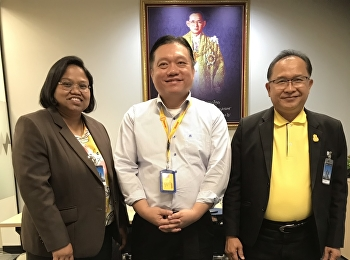 Mr. Suwat Nualkaw, Associate Dean for Administration, and Dr.Wiriya Boonmalert, Associate Dean for Academic Affairs, had a meeting with Asst. Prof. Dr. Boonchai Chaianasathub, Vice President of Human Resources in Thailand, Vietnam, Myanmar and Cambodia,