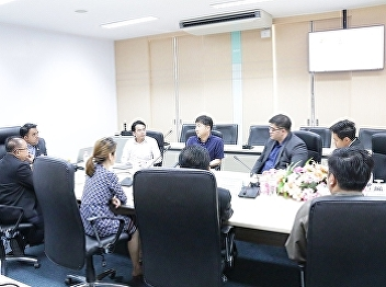 Asst. Prof. Dr. Komson Sommanawat, Dean of College of Logistics and Supply Chain, along with the college administrators welcomed MR. JUN JAE CHAE, a representative from Korea Aerospace University,