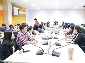 Asst. Prof. Dr. Komson Sommanawat, Dean of College of Logistics and Supply Chain, Suan Sunandha Rajabhat University, and Acting Director of Nakhon Pathom Campus, presided over the Knowledge Management (KM) Meeting No. 1/2020.
