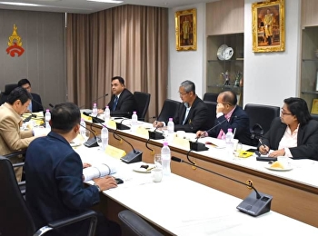 Asst. Prof. Dr. Komson Sommanawat, Dean of College of Logistics and Supply Chain, Suan Sunandha Rajabhat University, attended the board meeting of College of Logistics and Supply Chain No. 6/2019.