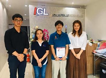 นิเทศนักศึกษาฝึกประสบการณ์วิชาชีพ ณ MITSSUI SOKO และ IGL