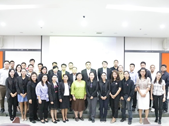 Asst. Prof. Dr. Komson Sommanawat, Dean of College of Logistics and Supply Chain, Suan Sunandha Rajabhat University, was the chairman of the training course for skill standard tester, Logistics Industry Group Level 1, Road Freight Professionals.