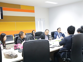 Asst. Prof. Dr. Komson Sommanawat, Dean of College of Logistics and Supply Chain, Suan Sunandha Rajabhat University, participated in the meeting on Rajabhat University networking building for logistics and border trade