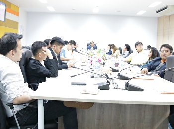Asst. Prof. Dr. Komson Somnawat, Dean of College of Logistics and Supply Chain, chaired the 12th College of Logistics and Supply Chain Executive Committee Meeting