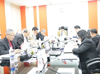 Asst. Prof. Dr. Komson Sommanawat, Dean of College of Logistics and Supply Chain, Suan Sunandha Rajabhat University, Nakhon Pathom Education Center, attended the meeting of the Board of Directors of College of Logistics and Supply Chain No. 1/2020.