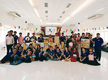 2nd and 3rd year students organized the 2020 New Year party for the freshmen of College of Logistics and Supply Chain, Suan Suinandha Rajabhat University, Ranong Education Center.