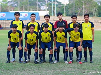 College of Logistics and Supply Chain, Suan Sunandha Rajabhat University, Nakhon Pathom Education Center participated in the Silpakorn Freshy University Cup 2020 football competition