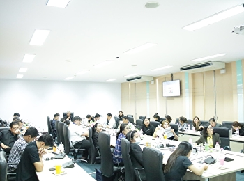 College of Logistics and Supply Chain, Suan Sunandha Rajabhat University, Nakhon Pathom Education Center organized a seminar to provide knowledge regarding criteria and methods for determining academic positions.