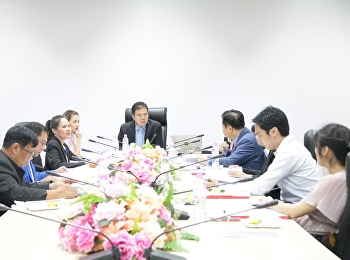 Dr.Chattrarat Hotrawaisaya and Dr.Chitpong Ayasanond along with the program committees had a meeting with the experts from related field of study to make an improvement of the program in 5 years plan at the meeting room on 4th floor, building 82nd,