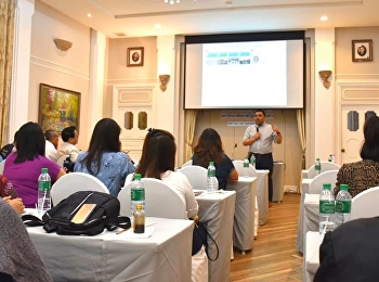 Asst. Prof. Dr. Komson Sommanawat, Dean of College of Logistics and Supply Chain (CLS), Suan Sunandha Rajabhat University (SSRU), was honored to be the guest speaker on the topic