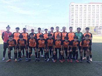 College of Logistics and Supply Chain's male football team competed in the 30th Suan Sunandha Rajabhat University Games.