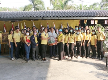 College of Logistics and Supply Chain joined the community development volunteer project with the objective of raising and instilling public awareness to help and develop societies at the District Sufficiency Economy Learning Center, Village No. 4,