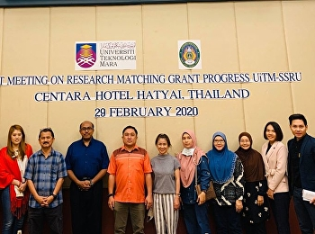 Dr. Chattarat Hottrawaisaya, Associate Dean for Research and Academic Service and the faculty of the College of Logistics and Supply Chain, Suan Sunandha Rajabhat University in collaboration with UNIVERSITY TEKNOLOGI MARA (UiTM), Malaysia,