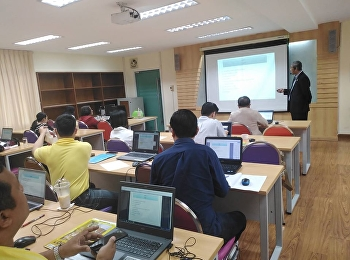 """Doctoral of Business Administration in Logistics and Supply Chain program, Suan Sunandha Rajabhat University, organized the """"How to do the Ph.D. Dissertation"""" training by Assoc.Prof.Dr.Witthaya Mekkhum, Vice President of Planning and Quality Assurance,"""