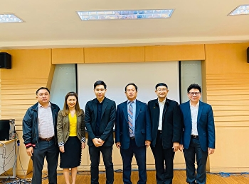 """Doctoral of Business Administration in Logistics and Supply Chain program, Suan Sunandha Rajabhat University, organized the """"Dissertation Defending Exam"""" for the 1st batch D.B.A. student, Mr.Wissawa Aunyawong."""