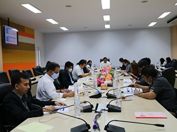 Asst. Prof. Dr. Komson Sommanawat, Dean of College of Logistics and Supply Chain, Suan Sunandha Rajabhat University, Nakhon Pathom Campus, presided over the 2nd administrative meeting of College of Logistics and Supply Chain.