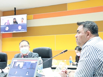 Asst.Prof.Dr.Komson Sommanawat, Dean of College of Logistics and Supply Chain, presided the 4th/2020 Administration Board Meeting at Keaw Jao Jom Meeting, 82nd building 4th floor at College of Logistics and Supply Chain, Suan Sunandha Rajabhat University,