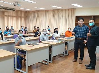 บรรยากาศการเรียนการสอนระดับปริญญาโท MBA Logistics and Supply Chain Management รุ่นที่ 18  ปี 2563 ในช่วง Covid-19  New Normal