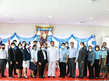 Asst.Prof.Dr.Komson Sommanawat, Dean of College of Logistics and Supply Chain as the Acting Director of Suan Sunandha Rajabhat University Nakorn Pathom Campus,