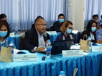 Mr.Suwat Nualkaw, Associate Dean for Administration, attended the meeting with Mr,Sanchai Chorbpimai, Director of Nakorn Pathom 16th Institute for Skill Development, in order to present the logistics and supply chain strategic planning for increase