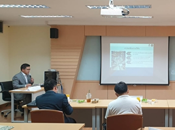 M.B.A. in Logistics and Supply Chain Program organized the thesis and individual study defending exam at Room 2133, 3rd floor, 21st building, Suan Sunandha Rajabhat University.