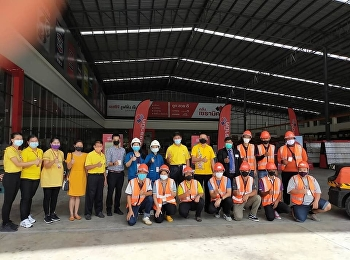 Lecturers of Logistics Management Department, Ranong Education Center, joined the project to raise the level of Thai labor to meet the labor skill standard to support competition in the labor potential development activity to support the payment