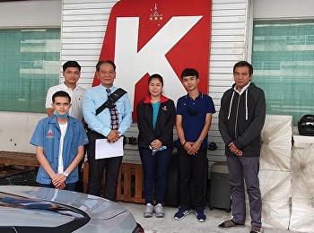 Dr. Putjai Indranoi, Head of Air Cargo Management Department, visited internship students at K-Line Logistics (Thailand) Co., Ltd.
