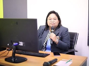 Asst. Prof. Dr. Wiriya Boonmalert, Associate Dean for Academic Affairs, presided over the Academic Committee Meeting No. 10/2020, College of Logistics and Supply Chain.