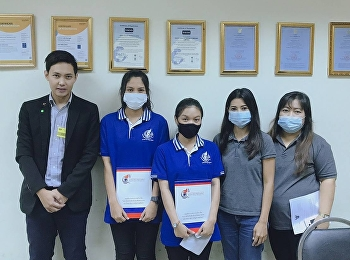 Dr.Wissawa Aunyawong visited internship students at N.A.D. Cold Storage Co., Ltd.
