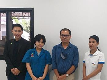 ดร.วิศวะ อุนยะวงษ์ เข้านิเทศนักศึกษาฝึกประสบการณ์วิชาชีพ ณ บริษัท ลิ้งซ์ อินเตอร์ เอ็กซ์เพรส จำกัด