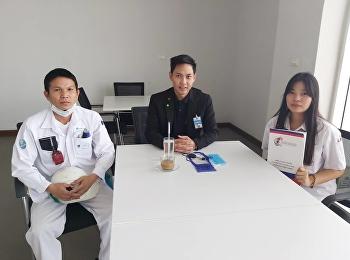 ดร.วิศวะ อุนยะวงษ์ เข้านิเทศนักศึกษาฝึกประสบการณ์วิชาชีพ ณ บริษัท ฮอนด้าโลจิสติกส์เอเชีย จำกัด