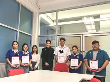 Dr.Wissawa Aunyawong visited internship students at CTI Logistics Co., Ltd.