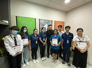 Dr.Wissawa Aunyawong visited internship students at DSV Air & Sea Co., Ltd.