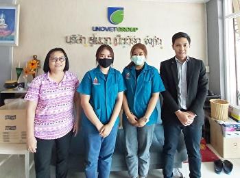 Dr.Wissawa Aunyawong visited internship students at UNOVET NETWORK CO., LTD.