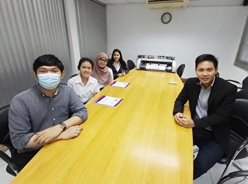 Dr.Wissawa Aunyawong visited internship students at EPIC Computer Co., Ltd.
