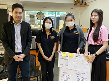 Dr.Wissawa Aunyawong visited internship students at Cargopoint Co., Ltd.