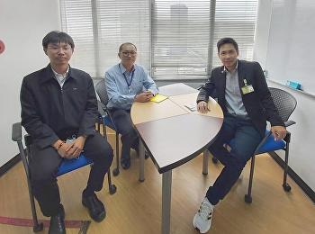 Dr.Wissawa Aunyawong visited internship student at KWE-Kintetsu World Express (Thailand) Co., Ltd.