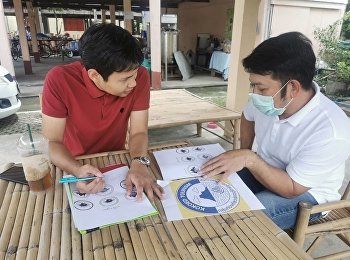 Dr.Wissawa Aunyawong, Director of MBA Program,  gives advice to head of Kokoed Community, Bang Pa-in, Ayutthaya [Creative Industry Village(CIV) Project, Department of Industrial Promotion, Ministry of Industry]