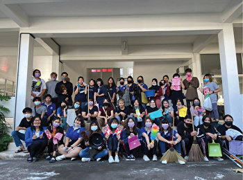 Logistics Management, Chonburi Education Center by Ajarn Soontaree Putthiworn organized a Big Cleaning Day volunteer activity.
