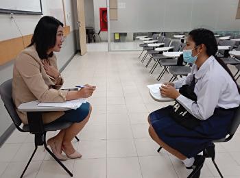อ.ศศิวิมล ว่องวิไล ประธานโครงการภาคพิเศษฯ ดำเนินการรับสมัครคัดเลือกบุคคลเข้าศึกษาหลักสูตรบริหารธุรกิจบัณฑิต